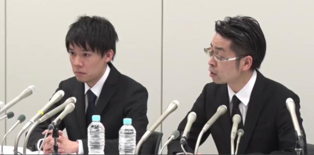 Руководители CoinCheck на пресс-конференции рассказывают о взломе биржи