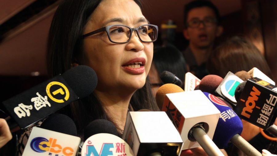 Джулия Леюнг, заместитель главы Комиссии по ценным бумагам и фьючерсам Гонконга