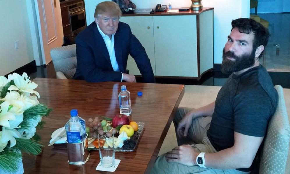 Дональд Трамп и Дэн Билзерян