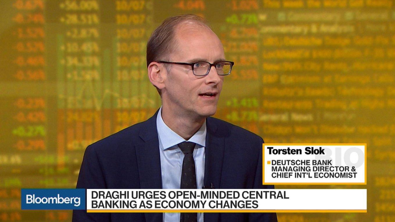 Deutsche Bank: одна из основных угроз 2018 года - это крах биткоина