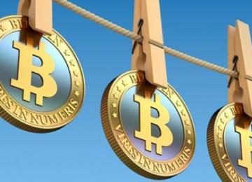 Менее одного процента всех транзакций в биткоине используется для отмывания денег